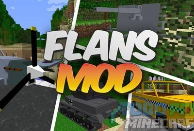 Flans Mod Para Minecraft 1.8/1.7.10/1.7.2/1.6.4