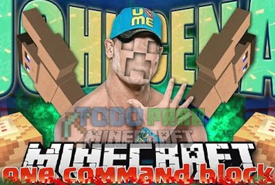 John Cena Command Block Minecraft 1.9