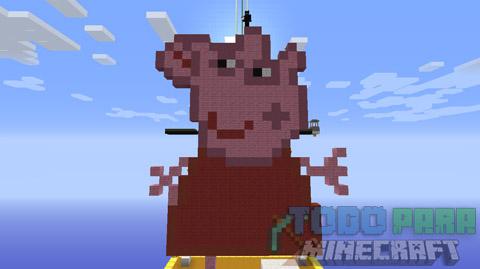 Peppa Pig Minecraft Mapa En Español 2