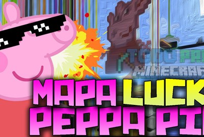 Peppa Pig Mapa Para Minecraft Lucky Blocks 1.8.8./1.8