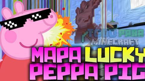 Peppa Pig Mapa Para Minecraft Lucky Blocks 1.8.8./1.8