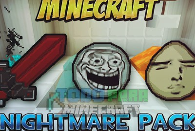 Texture Pack PVP Nightmare Para Minecraft 1.8.9/1.8.8/1.8