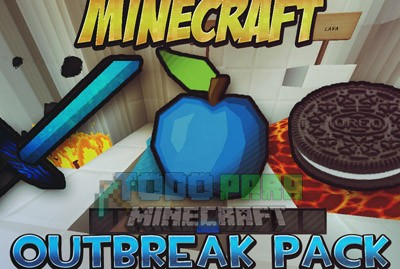 Texture Pack PVP Outbreak Para Minecraft 1.8.8/1.8/1.7.10/1.7.2
