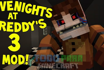 Five Nights At Freddy's 3 Mod Para Minecraft 1.7.10