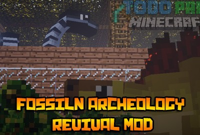 Fossil Archeology Revival Mod Para Minecraft 1.7.10/1.7.2/1.6.4