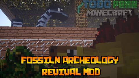 Fossil/Archeology Mod For Minecraft 1.7.10, 1.7.2, 1.6.4 ...