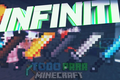 Infiniti Texture Pack PVP Para Minecraft 1.8.9/1.8.8/1.8