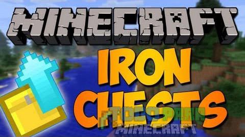 Iron Chests Mod Minecraft 1.9.4/1.9/1.8.9/1.8/1.7.10