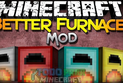 More Furnaces Mod Para Minecraft 1.8.8/1.8/1.7.10/1.7.2/1.5.2
