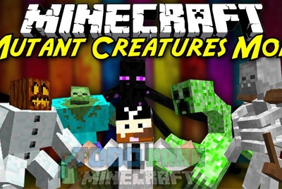 Mutant Creatures Mod Para Minecraft 1.7.10/1.7.2/1.6.4
