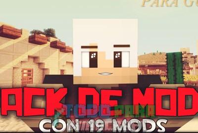 Pack De Mods Para Minecraft 1.8 Con 19 Mods Y Sin Lag