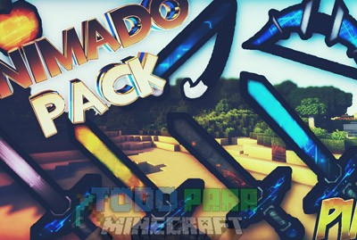 Texture Pack PVP Animado Para Minecraft 1.8.9/1.8.8/1.8