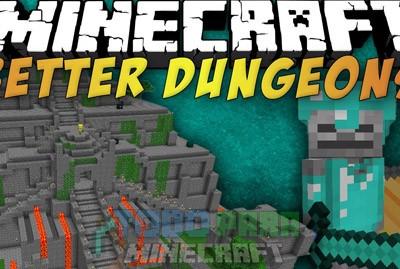 Better Dungeons Mod Para Minecraft 1.8/1.7.10/1.7.2