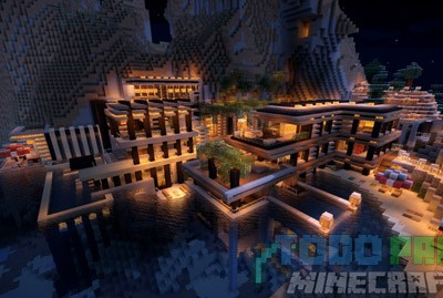 Luxurious Cove House Mapa Para Minecraft 1.8.9/1.8.8/1.8/1.7.10