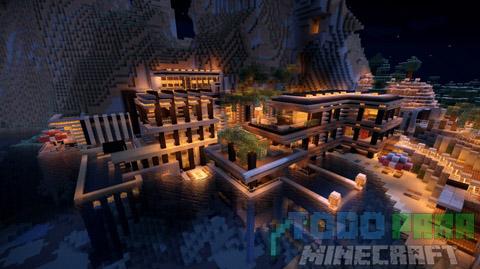 Luxurious Cove House Mapa Para Minecraft 1.8.9/1.8.8/1.8/1.7.10