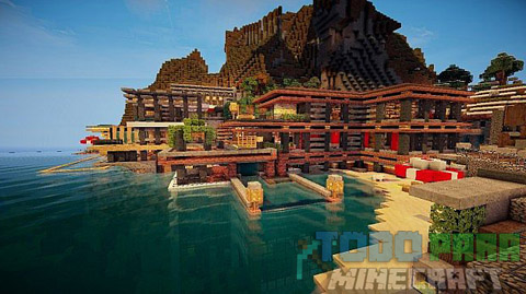 Luxurious Cove Mapa 2