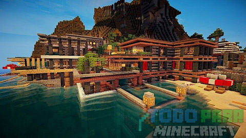 Luxurious Cove Mapa