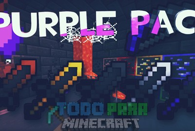 Purple Pack PVP Para Minecraft 1.8.9/1.8.8/1.8 Sin Lag