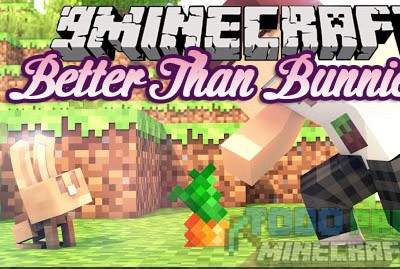 Better Than Bunnies Mod Para Minecraft 1.9/1.8.9