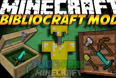 BiblioCraft Mod Para Minecraft 1.7.10/1.7.2/1.6.4