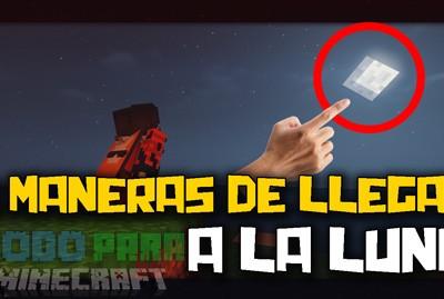 Como Llegar A La Luna En Minecraft Mapa