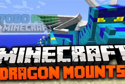Dragon Mounts Mod Para Minecraft 1.8/1.7.10/1.7.2