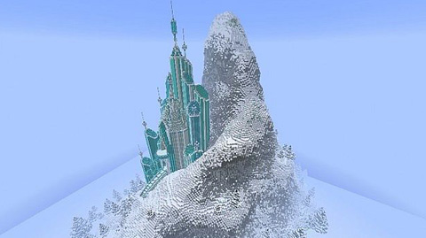 Elsa's Ice Castle Frozen Mapa 2