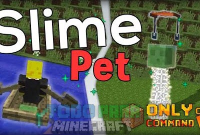 Slime Pet Command Block 1.9.1/1.9