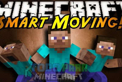 Smart Moving Mod Para Minecraft 1.8/1.7.10/1.7.2