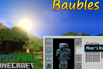Baubles Mod Minecraft 1.9.4/1.9/1.8.9/1.8