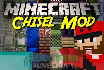 Chisel Mod Minecraft 1.9/1.8.9/1.8/1.7.10