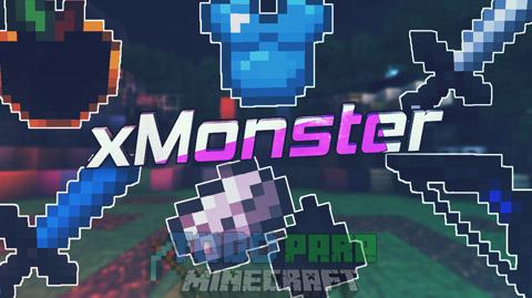 El Mejor Texture Pack PVP Minecraft 1.8/1.9 | xMonster PACK