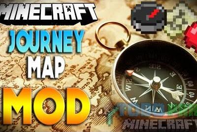 JourneyMap Mod Minecraft 1.9.4/1.9/1.8.9/1.8