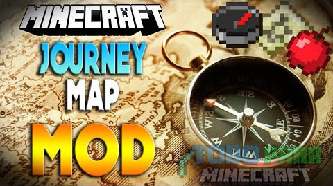 JourneyMap Mod Minecraft 1.9.4/1.9/1.8.9/1.8