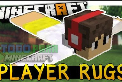 Player Rugs Mod Minecraft 1.9.4/1.9/1.8.9/1.7.10