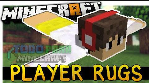 Player Rugs Mod Minecraft 1.9.4/1.9/1.8.9/1.7.10