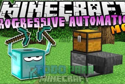 Progressive Automation Mod Minecraft 1.9.4/1.9/1.8.9/1.8