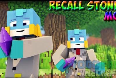 Recall Stones Mod Minecraft 1.9.4/1.7.10/1.7.2
