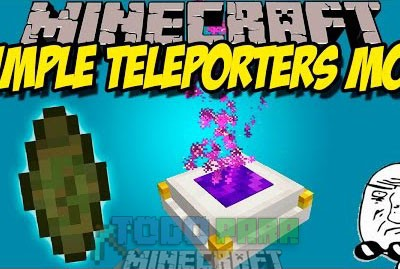 Simple Teleporters Mod Minecraft 1.9.4/1.9/1.8.9