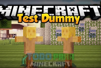 Test Dummy Mod Minecraft 1.9.4/1.9/1.8.9/1.8