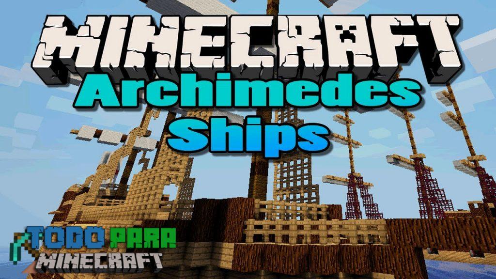 mod Archimedes' Ships para Minecraft