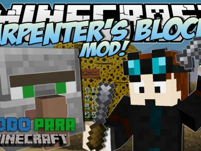 Mod Carpenter's Blocks para Minecraft 1.7/1.6/1.5