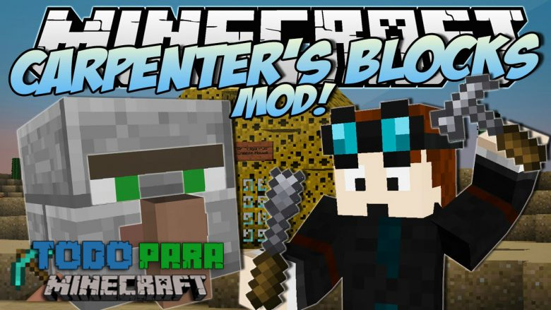 Mod Carpenter's Blocks para Minecraft 1.7/1.6/1.5