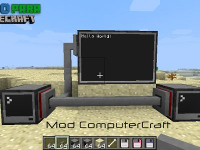 Mod ComputerCraft 1.9/1.8/1.7/1.6
