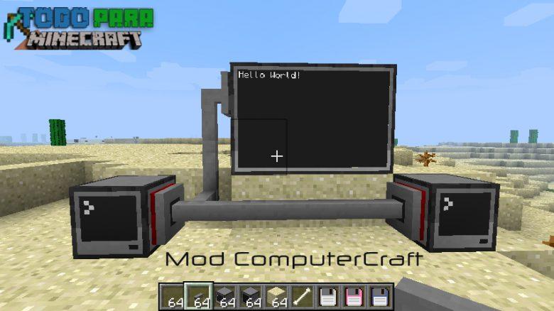 Mod ComputerCraft 1.9/1.8/1.7/1.6