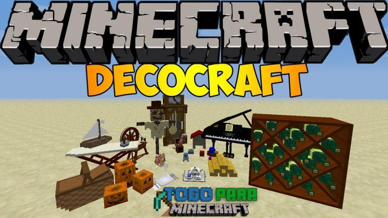 Mod DecoCraft 2 para Minecraft 1.8/1.7/1.6