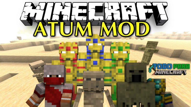 Mod Atum: Journey Into the Sands para Minecraft 1.7/1.6/1.5 (Planeta Vegetta)
