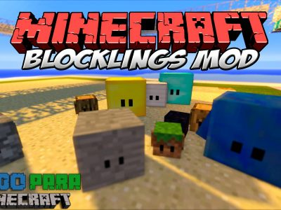Mod Blocklings para Minecraft 1.10/1.9/1.8/1.7 (Planeta Vegetta)