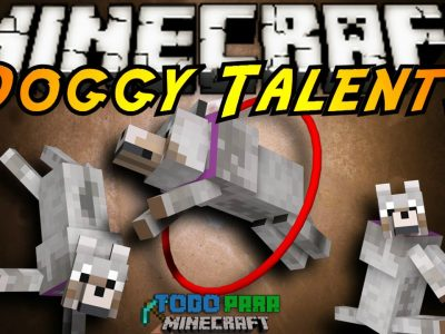 Mod Doggy Talents para Minecraft 1.8/1.7/1.6/1.5 (Planeta Vegetta)
