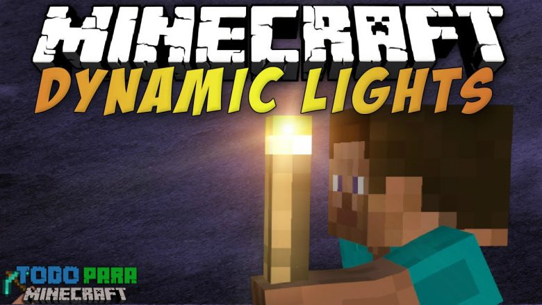 Mod Dynamic Lights para Minecraft 1.10/1.9/1.8/1.7 (Planeta Vegetta)
